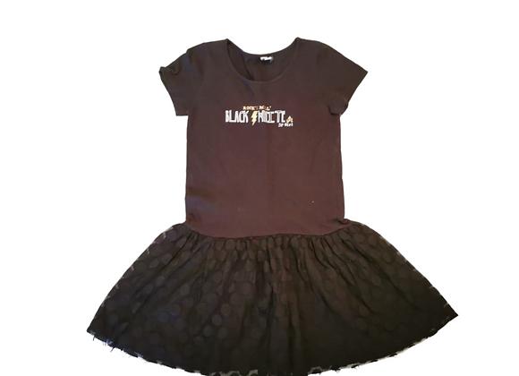 Black Rock & Roll tutu dress. 11-12yrs