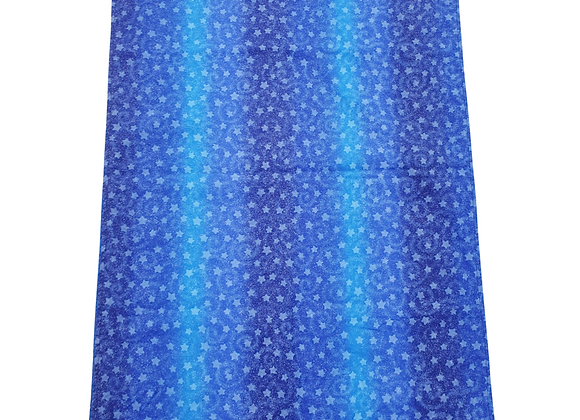 Blue nursing blanket