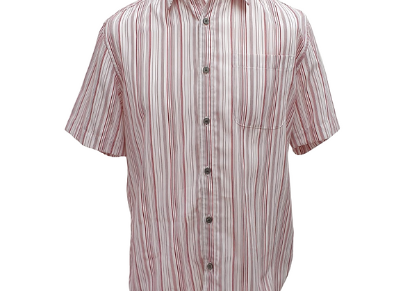 Bhs red stripe soft touch shirt. Size M