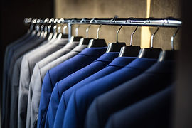 dry cleaned suits