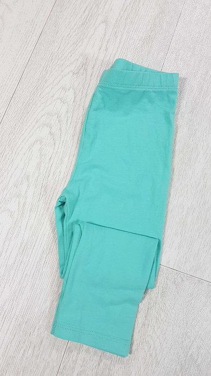 Tu turquoise leggings 18-24m