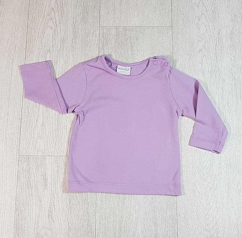 ◽Mini Club purple long sleeve top. 3-6months