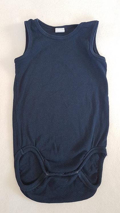 H&M. Navy sleeveless vest. Size 12-18 months.