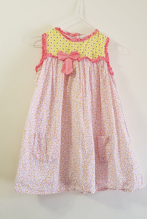 BOWS AND ARROWS Summer dress. 100% cotton 2-3yrs
