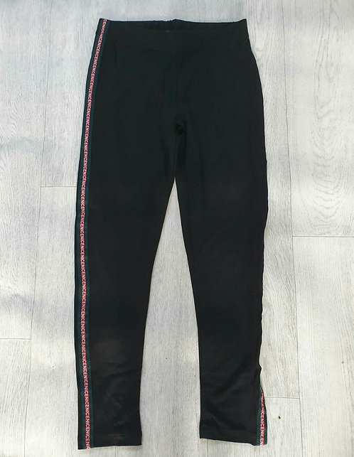 Koolook Nice black sports trousers. Size S