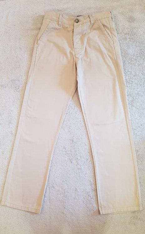Kangol. Beige chino trousers. Age 11-12yrs.