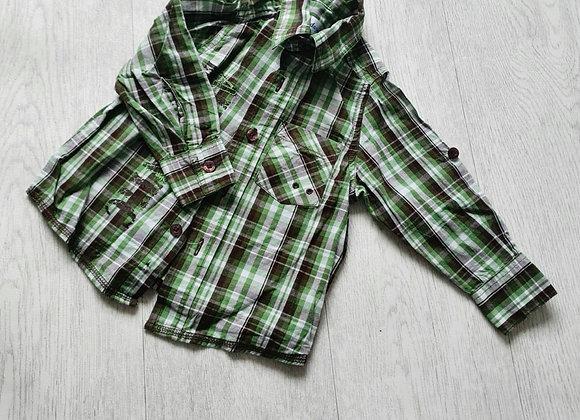 Early Days green check shirt. 6-12m