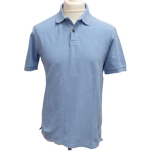 Blue Harbour blue polo shirt. Size M