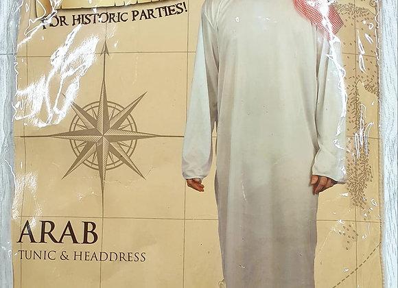 Arab tunic & headdress. Mens M