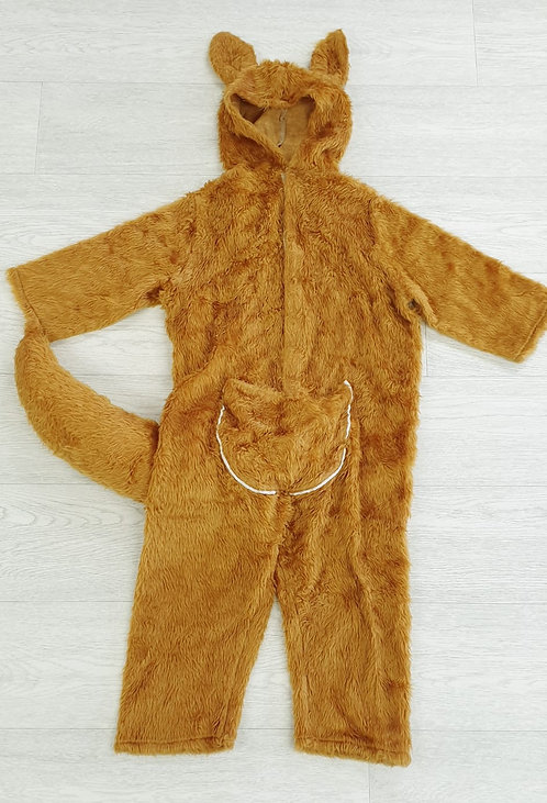 ⚪Child's handmade kangaroo outfit with front pouch. 4-5yrs approximately