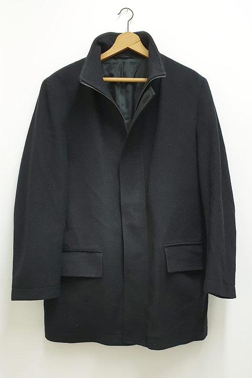 🌑Next black duffle style coat. Size M