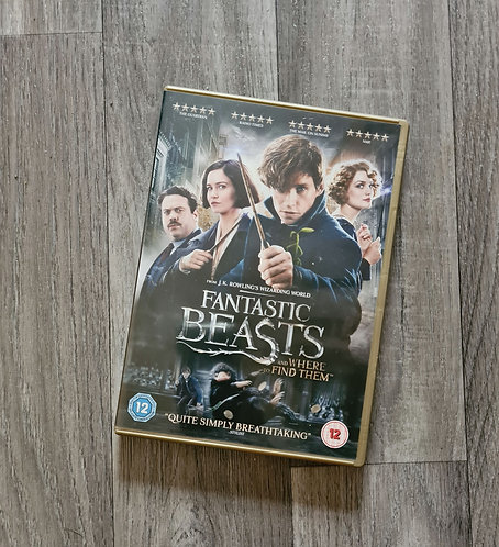 DVD - Fantastic Beasts and where to find them. Rating 12