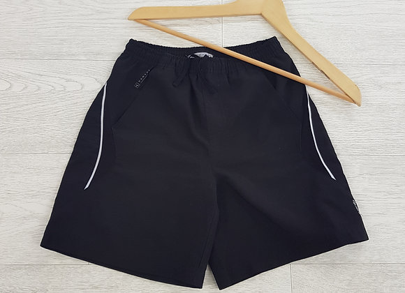 Domyos black sports shorts size 8 years