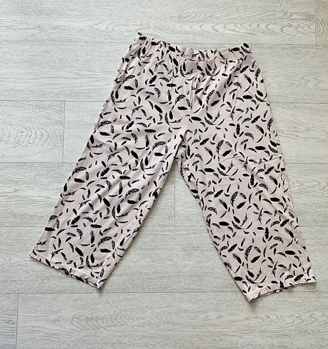🍃George pale pink pyjama bottoms. Size 8-10