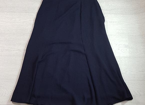 Alexon navy calf length skirt. Size 10