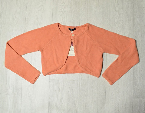 Peach cardigan New with tags 9-10yrs