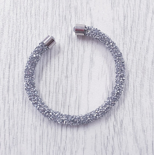 Crystalline and diamante bangle