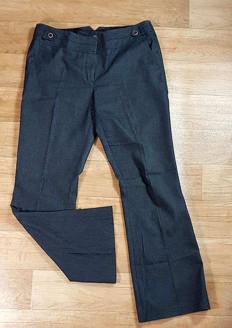 George dark rinse denim look bootcut trousers. Size 12