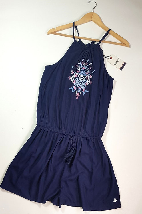 Soul Cal navy playsuit. Size 14 NWT