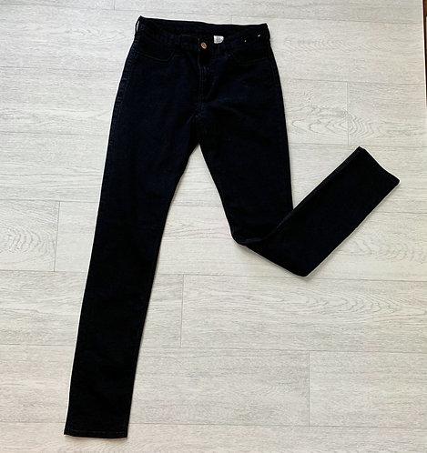 🍃H&M black skinny jeans. 14-15yrs