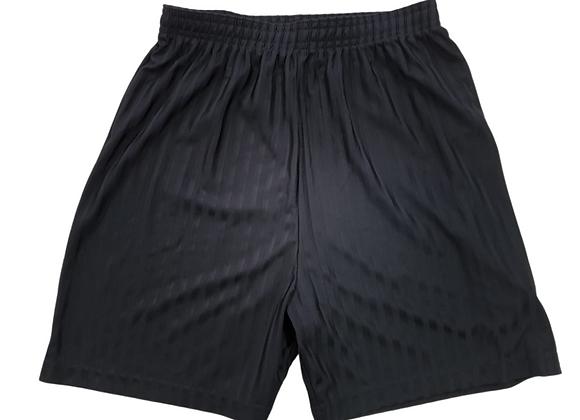 M&S Black P.E shorts. 12-13yrs