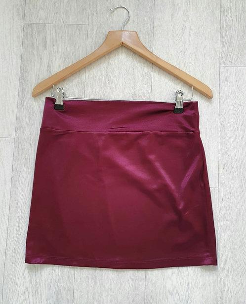 Atmosphere burgundy mini skirt. Size 10