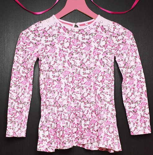 Tu pink floral top. 8yrs
