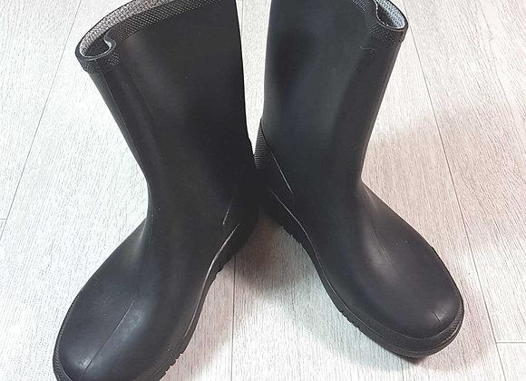 ◽Dunlop black Wellington boots. Size 10