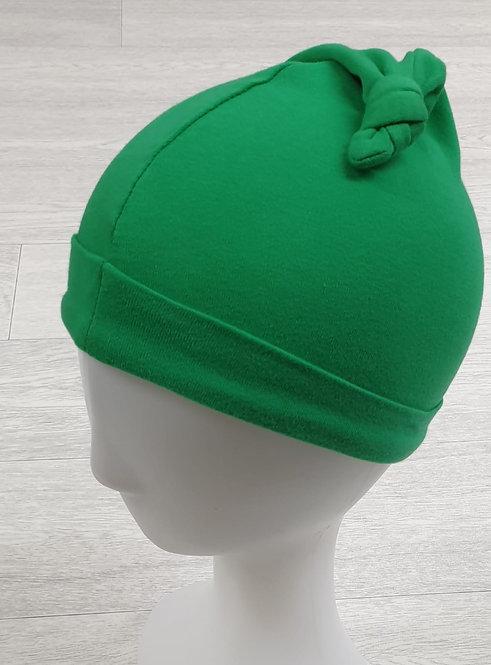 Green elf hat. 0-3m