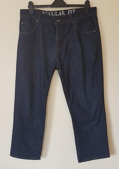 Debenhams. Denim jeans. Regular fit. Size 36R.
