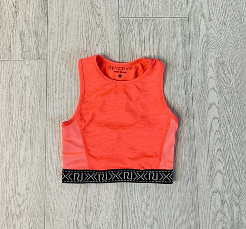 🌞River Island coral sports top. 5-6yrs