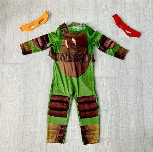 🐢Teenage Mutant Ninja Turtles costume. 3-4yrs
