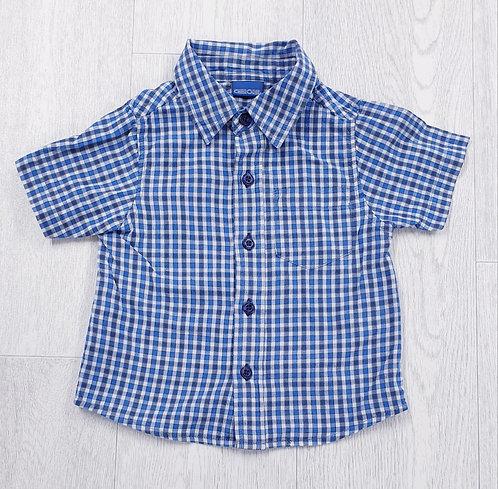 Cherokee check shirt. 12-18m