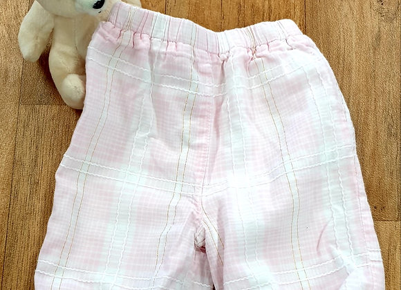 Debenhams pink trousers. 0-3m