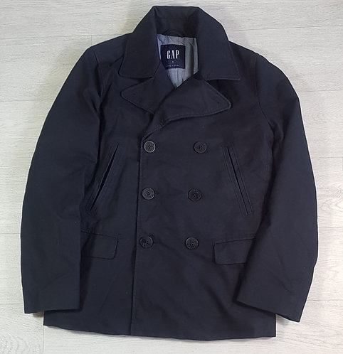 Gap navy thick double breasted jacket. Size S