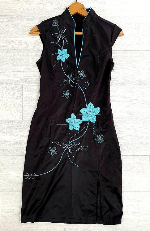 Jane Norman Black geisha dress. Uk 12