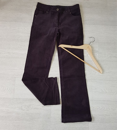 Tu grey chord bootcut trousers size 12