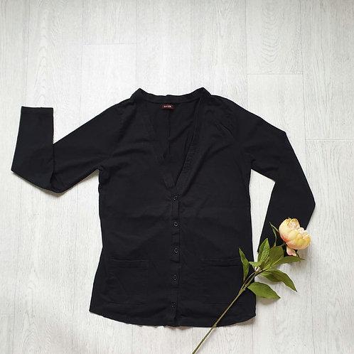 💮Savoir Black cardigan. Size 14