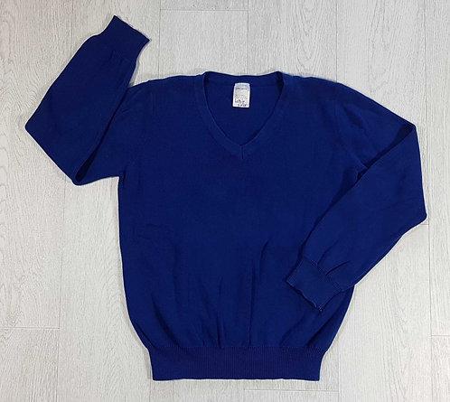 ◾John Lewis blue school sweater. 13-14yrs