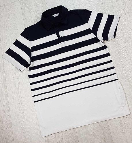 Next navy/white polo shirt. Size S NWOT