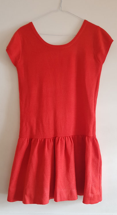 ATMOSPHERE Red knit dress. 100% acrylic size 8