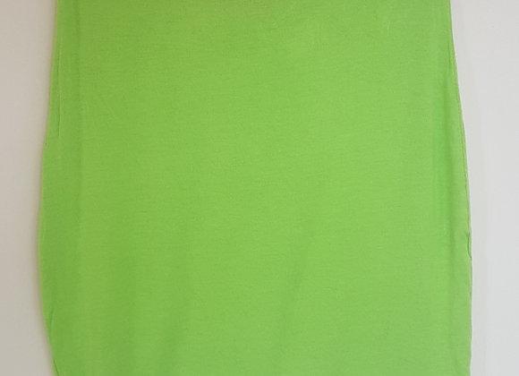 BOOHOO. Lime colour mini skirt.