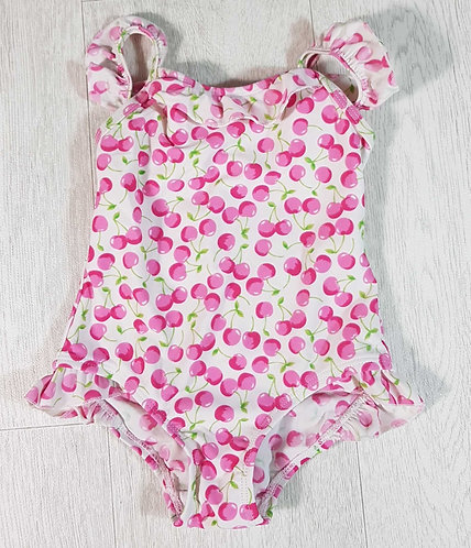◾Early Days cherry swimming costume. 12-18months