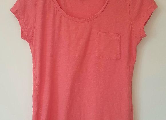 ATMOSPHERE. Pink short sleeve top.