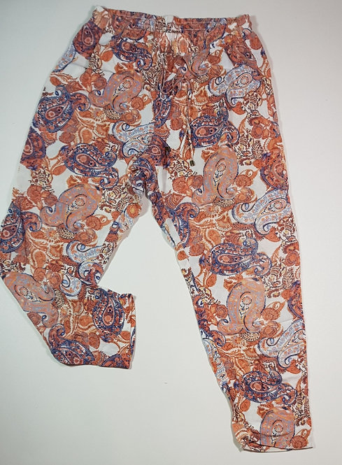 F&F patterned harem trousers. Size 12