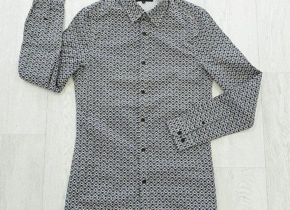 "Burton patterned shirt. Size XS 32-34"" chest"