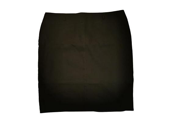 Collection Debenhams black linen skirt. Uk 20