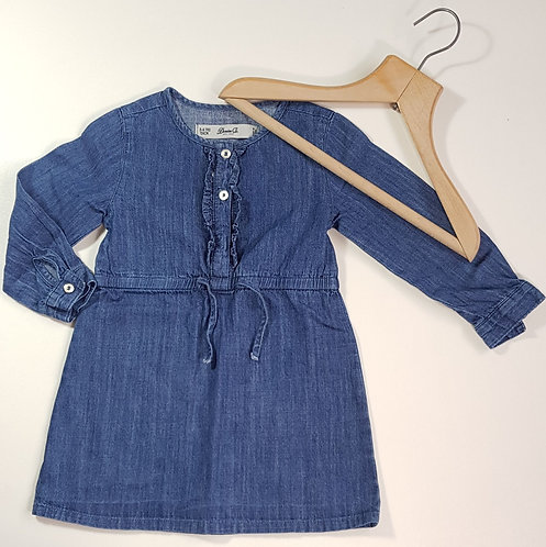 Denim Co dress. 3-4yrs