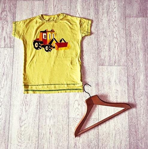 ♦️Next yellow tractor t-shirt. 4-5yrs