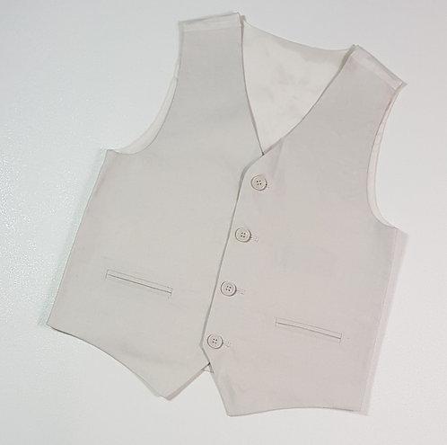 M&S Stone waist coat. 10yrs